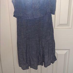 BCX Dresses - Blue Dress - Size XL